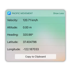 Movement Widget