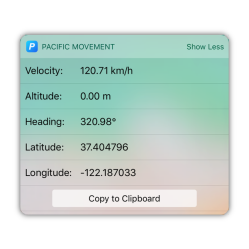 Movement Widget